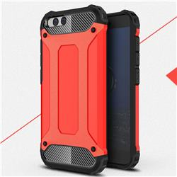 King Kong Armor Premium Shockproof Dual Layer Rugged Hard Cover for Xiaomi Mi 6 Mi6 - Big Red
