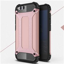 King Kong Armor Premium Shockproof Dual Layer Rugged Hard Cover for Xiaomi Mi 6 Mi6 - Rose Gold