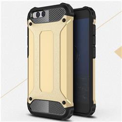 King Kong Armor Premium Shockproof Dual Layer Rugged Hard Cover for Xiaomi Mi 6 Mi6 - Champagne Gold