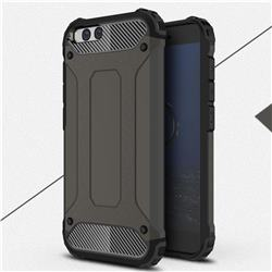 King Kong Armor Premium Shockproof Dual Layer Rugged Hard Cover for Xiaomi Mi 6 Mi6 - Bronze