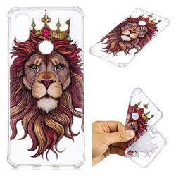 Lion King Anti-fall Clear Varnish Soft TPU Back Cover for Xiaomi Mi A2 (Mi 6X)