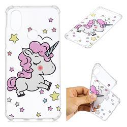 Star Unicorn Anti-fall Clear Varnish Soft TPU Back Cover for Xiaomi Mi A2 (Mi 6X)
