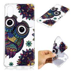 Owl Totem Anti-fall Clear Varnish Soft TPU Back Cover for Xiaomi Mi A2 (Mi 6X)