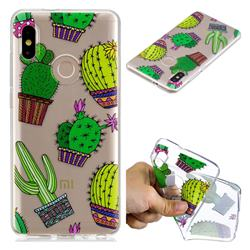 Cactus Ball Super Clear Soft TPU Back Cover for Xiaomi Mi A2 (Mi 6X)