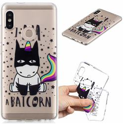 Batman Clear Varnish Soft Phone Back Cover for Xiaomi Mi A2 (Mi 6X)