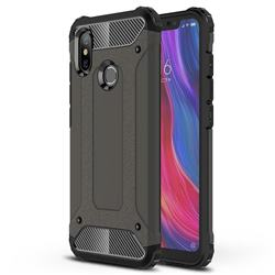 King Kong Armor Premium Shockproof Dual Layer Rugged Hard Cover for Xiaomi Mi 8 - Bronze