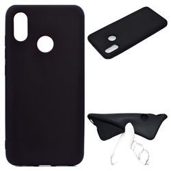 Candy Soft TPU Back Cover for Xiaomi Mi 8 SE - Black