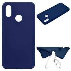 Candy Soft TPU Back Cover for Xiaomi Mi 8 SE - Blue