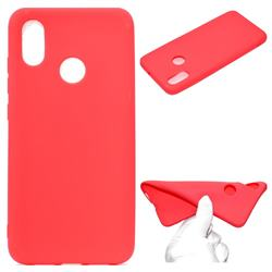Candy Soft TPU Back Cover for Xiaomi Mi 8 SE - Red