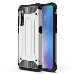 King Kong Armor Premium Shockproof Dual Layer Rugged Hard Cover for Xiaomi Mi 9 - White