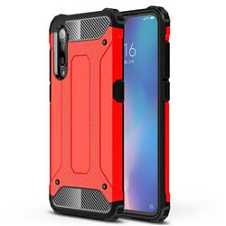 King Kong Armor Premium Shockproof Dual Layer Rugged Hard Cover for Xiaomi Mi 9 - Big Red