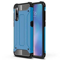 King Kong Armor Premium Shockproof Dual Layer Rugged Hard Cover for Xiaomi Mi 9 - Sky Blue