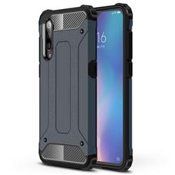 King Kong Armor Premium Shockproof Dual Layer Rugged Hard Cover for Xiaomi Mi 9 - Navy