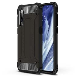 King Kong Armor Premium Shockproof Dual Layer Rugged Hard Cover for Xiaomi Mi 9 Pro - Black Gold
