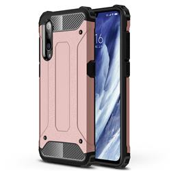 King Kong Armor Premium Shockproof Dual Layer Rugged Hard Cover for Xiaomi Mi 9 Pro - Rose Gold