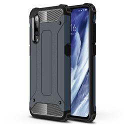 King Kong Armor Premium Shockproof Dual Layer Rugged Hard Cover for Xiaomi Mi 9 Pro - Navy