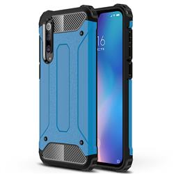 King Kong Armor Premium Shockproof Dual Layer Rugged Hard Cover for Xiaomi Mi 9 SE - Sky Blue