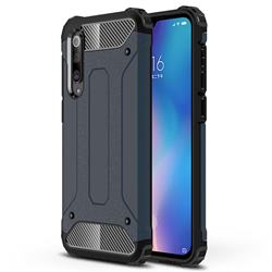 King Kong Armor Premium Shockproof Dual Layer Rugged Hard Cover for Xiaomi Mi 9 SE - Navy