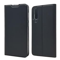 Ultra Slim Card Magnetic Automatic Suction Leather Wallet Case for Xiaomi Mi 9 SE - Star Grey