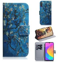 Apricot Tree PU Leather Wallet Case for Xiaomi Mi A3