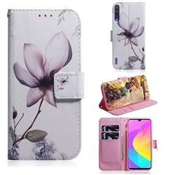 Magnolia Flower PU Leather Wallet Case for Xiaomi Mi A3