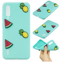 Watermelon Pineapple Soft 3D Silicone Case for Xiaomi Mi CC9 (Mi CC9mt Meitu Edition)