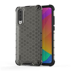 Honeycomb TPU + PC Hybrid Armor Shockproof Case Cover for Xiaomi Mi CC9 (Mi CC9mt Meitu Edition) - Gray