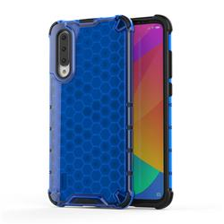 Honeycomb TPU + PC Hybrid Armor Shockproof Case Cover for Xiaomi Mi CC9 (Mi CC9mt Meitu Edition) - Blue