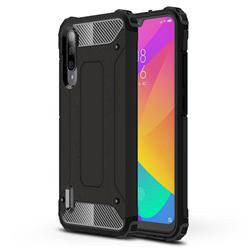 King Kong Armor Premium Shockproof Dual Layer Rugged Hard Cover for Xiaomi Mi CC9e - Black Gold