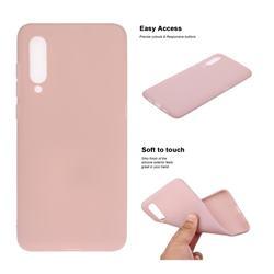 Soft Matte Silicone Phone Cover for Xiaomi Mi CC9e - Lotus Color