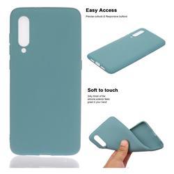 Soft Matte Silicone Phone Cover for Xiaomi Mi CC9e - Lake Blue
