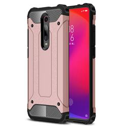 King Kong Armor Premium Shockproof Dual Layer Rugged Hard Cover for Xiaomi Redmi K20 / K20 Pro - Rose Gold