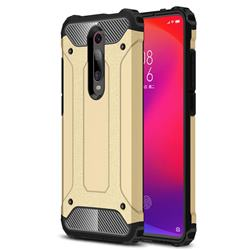 King Kong Armor Premium Shockproof Dual Layer Rugged Hard Cover for Xiaomi Redmi K20 / K20 Pro - Champagne Gold