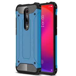 King Kong Armor Premium Shockproof Dual Layer Rugged Hard Cover for Xiaomi Redmi K20 / K20 Pro - Sky Blue