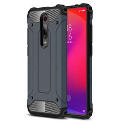King Kong Armor Premium Shockproof Dual Layer Rugged Hard Cover for Xiaomi Redmi K20 / K20 Pro - Navy