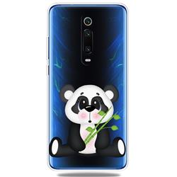 Bamboo Panda Clear Varnish Soft Phone Back Cover for Xiaomi Redmi K20 / K20 Pro