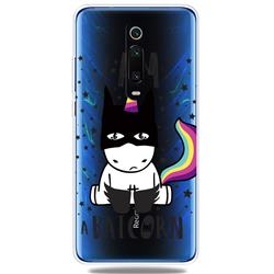 Batman Clear Varnish Soft Phone Back Cover for Xiaomi Redmi K20 / K20 Pro