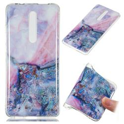 Purple Amber Soft TPU Marble Pattern Phone Case for Xiaomi Redmi K20 / K20 Pro
