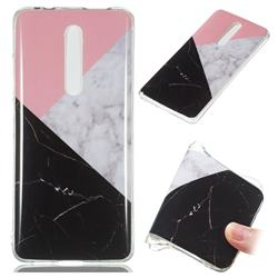 Tricolor Soft TPU Marble Pattern Case for Xiaomi Redmi K20 / K20 Pro