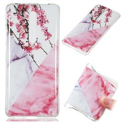 Pink Plum Soft TPU Marble Pattern Case for Xiaomi Redmi K20 / K20 Pro