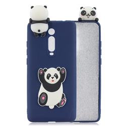 Giant Panda Soft 3D Climbing Doll Soft Case for Xiaomi Redmi K20 / K20 Pro