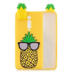 Big Pineapple Soft 3D Climbing Doll Soft Case for Xiaomi Redmi K20 / K20 Pro