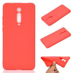 Candy Soft TPU Back Cover for Xiaomi Redmi K20 / K20 Pro - Red