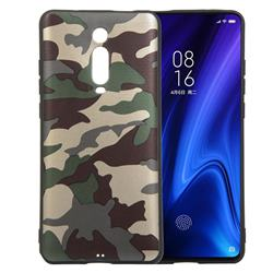 Camouflage Soft TPU Back Cover for Xiaomi Redmi K20 / K20 Pro - Gold Green