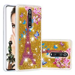 Golden Tower Dynamic Liquid Glitter Quicksand Soft TPU Case for Xiaomi Redmi K20 / K20 Pro