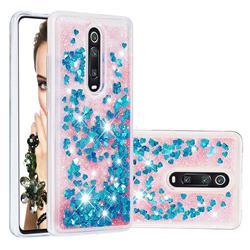 Dynamic Liquid Glitter Quicksand Sequins TPU Phone Case for Xiaomi Redmi K20 / K20 Pro - Blue