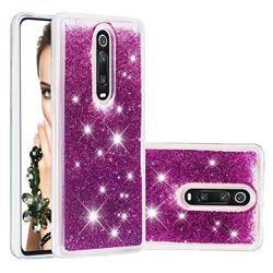 Dynamic Liquid Glitter Quicksand Sequins TPU Phone Case for Xiaomi Redmi K20 / K20 Pro - Purple