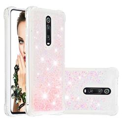 Dynamic Liquid Glitter Sand Quicksand TPU Case for Xiaomi Redmi K20 / K20 Pro - Silver Powder Star