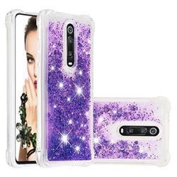 Dynamic Liquid Glitter Sand Quicksand Star TPU Case for Xiaomi Redmi K20 / K20 Pro - Purple