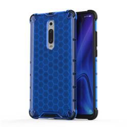 Honeycomb TPU + PC Hybrid Armor Shockproof Case Cover for Xiaomi Redmi K20 / K20 Pro - Blue